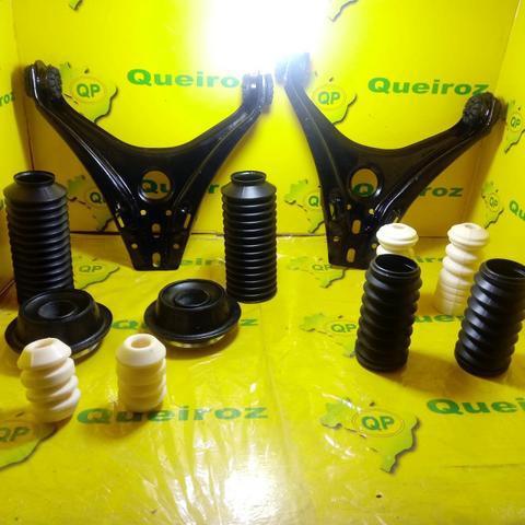 Bandejas + Kits Batentes Dianteiro Gol Bola G2/G3/G4