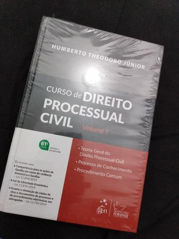 Curso de direito processual civil volume 1 e 2