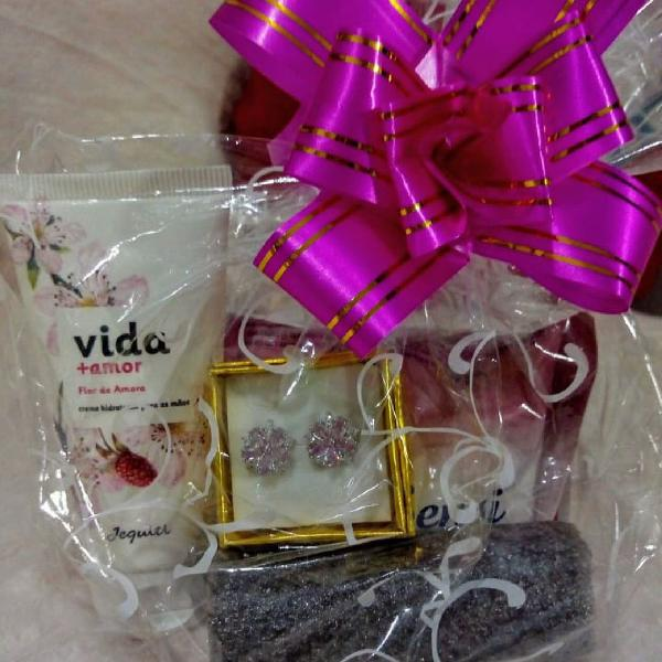 Kit especial dia das mulheres vida + amor