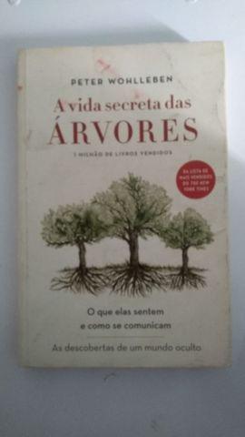 Livro a vida secreta das árvores