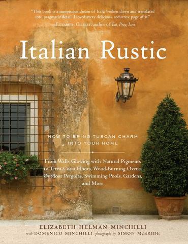 Livro italian rustic: como trazer charme da toscana para sua