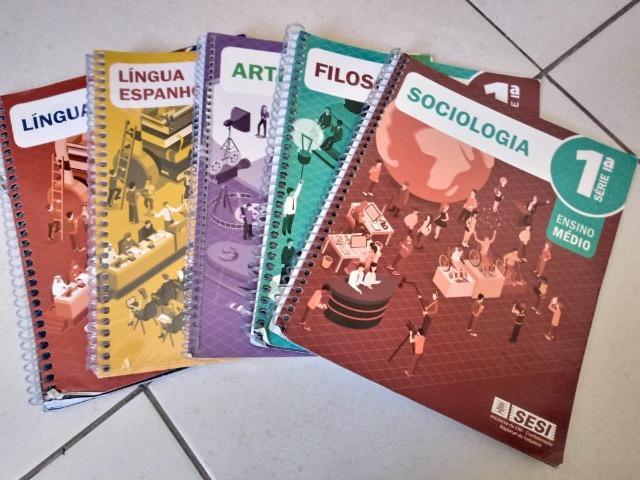 Livros sesi 1 ano em