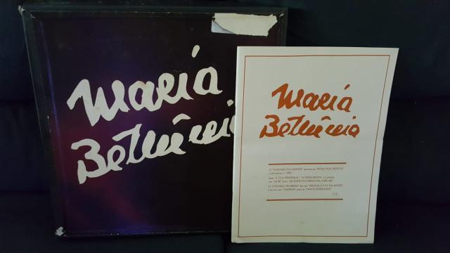 Maria bethânia box 6 discos lp vinil