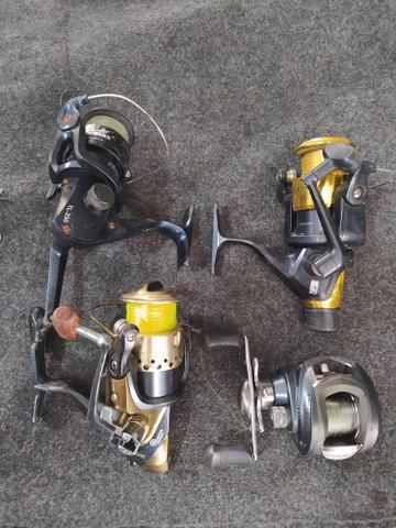 Meu material completo de pesca pescaria