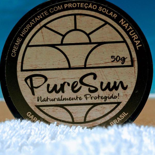 Protetor facial- natural e vegano pure sun