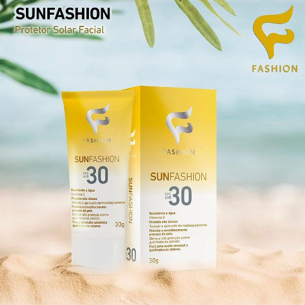 Protetor solar facial FPS30 Fashion 30g
