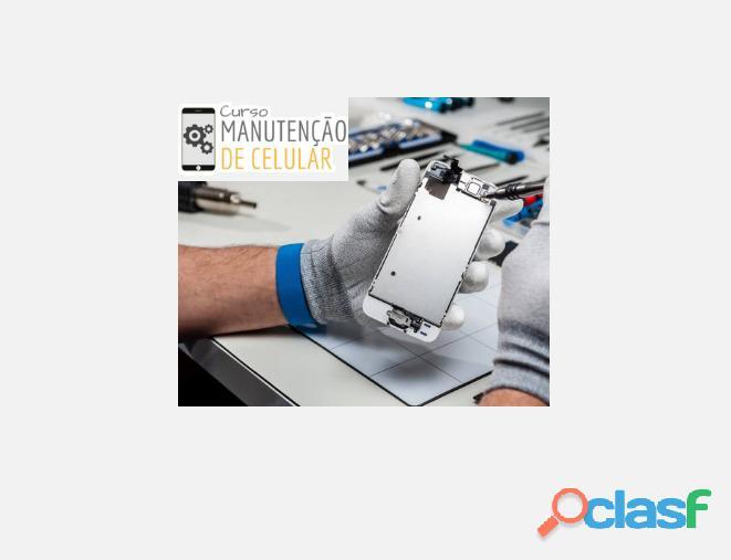 Curso de manutenção de celulares   com certificado