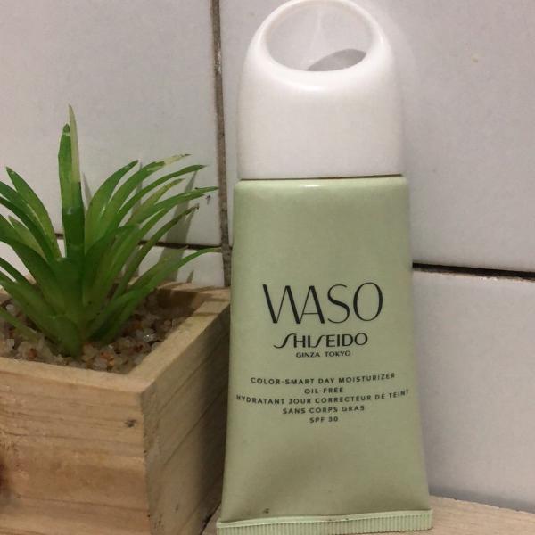 Hidratante anti poluição shiseido waso