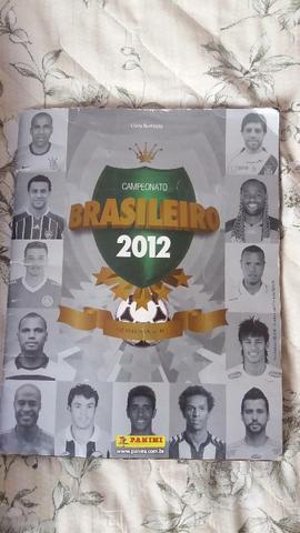 Lbum do brasileirão de 2012 completo!!