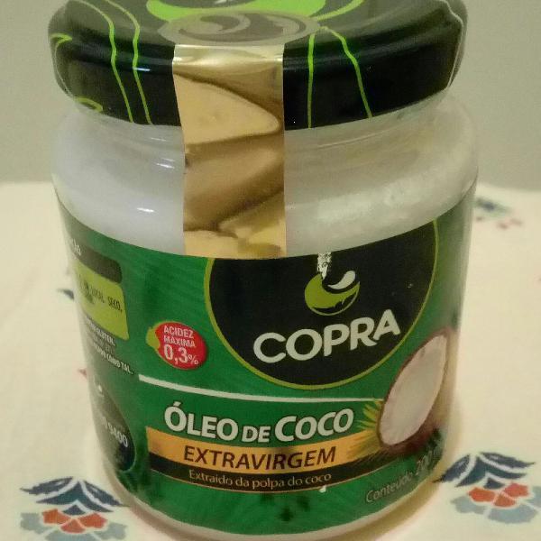 Leo de coco extravirgem