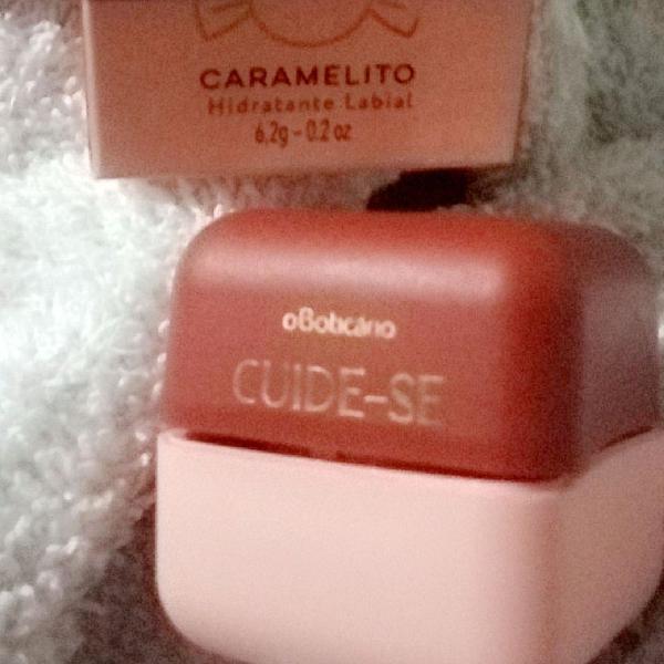 Hidratante brilho labial fps 15 caramelito.