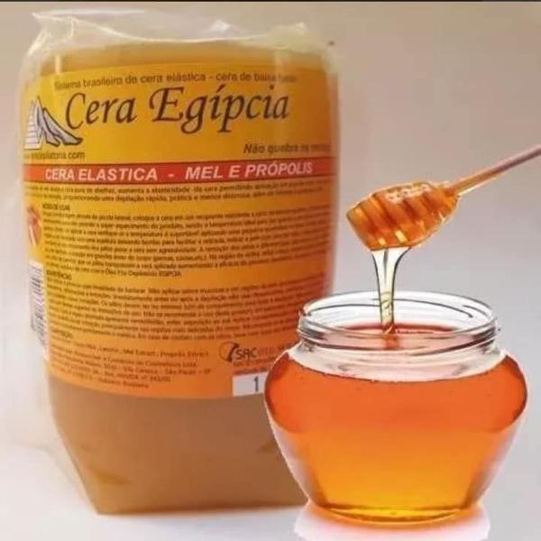 Cera quente depilatória de mel 1 kilo