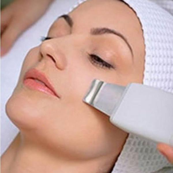 Escova de limpeza pelling ultrassonico pele lisa