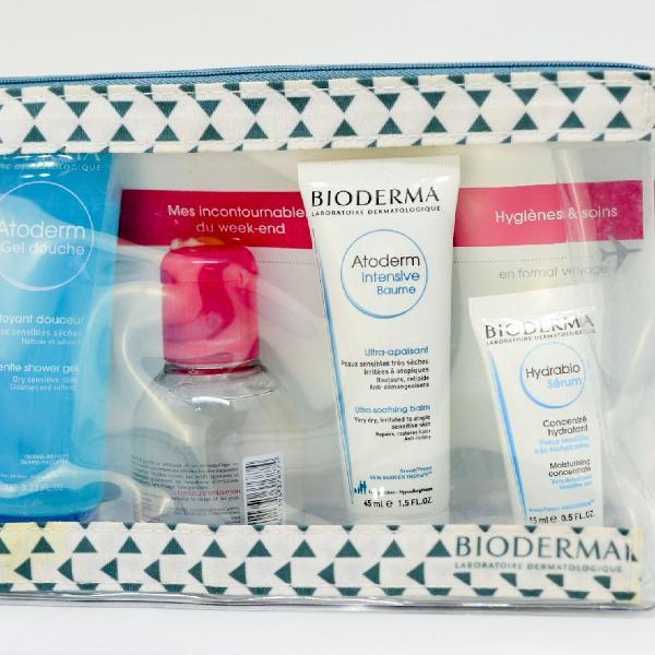 Kit de viagem da marca bioderma