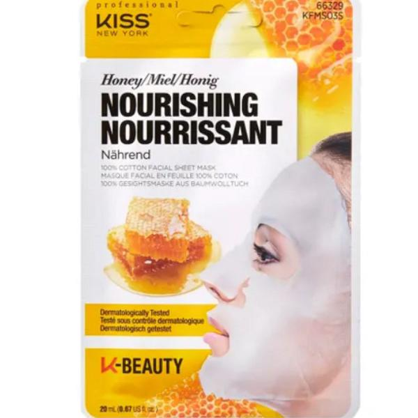 Máscara facial kiss ny mel 20ml