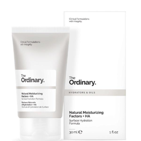 Natural moisturizing factors + ha
