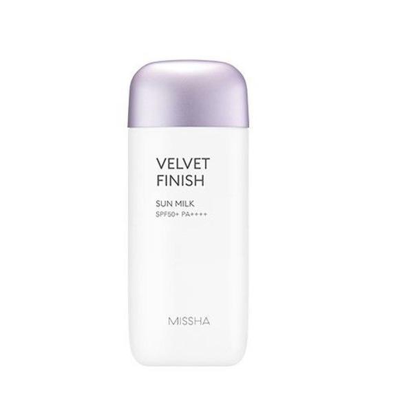 Protetor solar missha velvet finish sun milk 70 ml