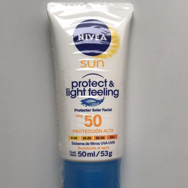 Protetor solar nivea fps 50 pro rosto