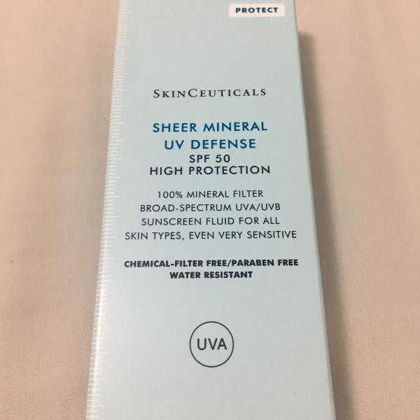 Protetor solar skinceuticals sheer mineral uv defense spf 50