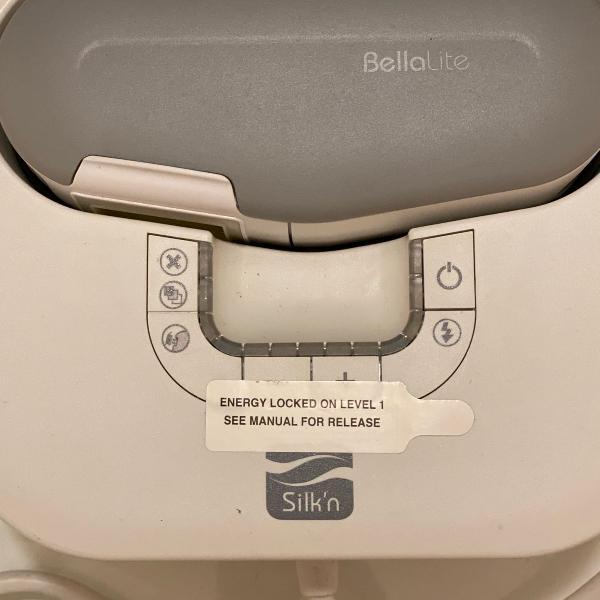 Silkn bella lite depilação à laser
