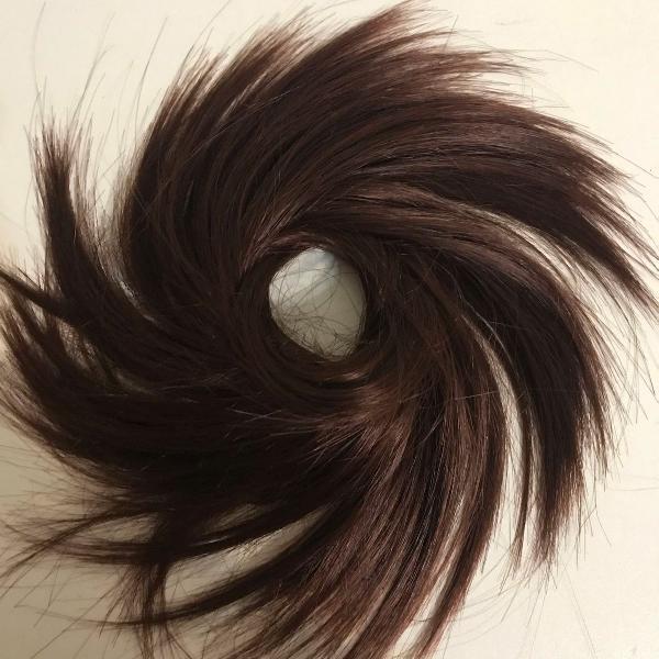 Aplique de cabelo para prender rabo de cavalo