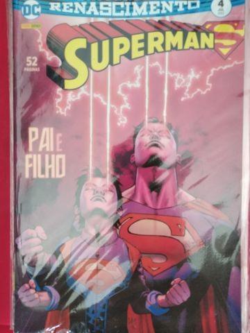 Action comcics 1 a 6 e superman renascimento 1 a 6