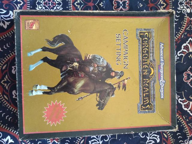 Advanced dungeons & dragons: forgotten realms (campaign