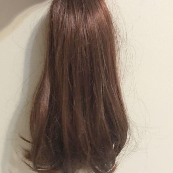 Aplique de cabelo para rabo de cavalo