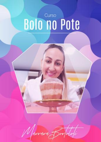 Apostila/curso bolo no pote gourmet com marrara bortoloti
