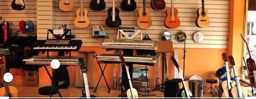 Aula de música online e presencial