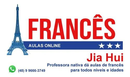 Aulas de francês com professora nativa