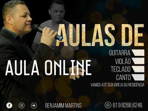 Aulas de música online