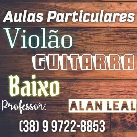 Aulas online de violão, guitarra, baixo