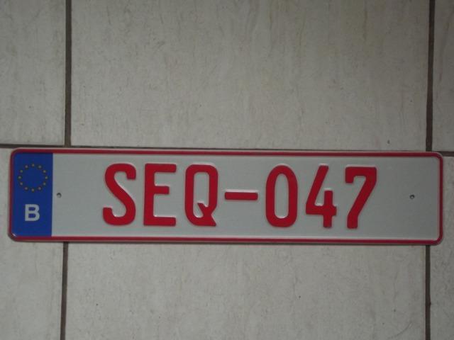 Bélgica,placa de carro,original,importada,tenho muitos