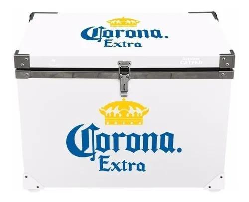 Caixa termica blindada corona extra 70 l churrasco praia