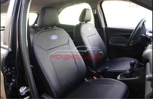 Capa Banco Automotivo 100% Couro New Ford Ka 2015 A 2020