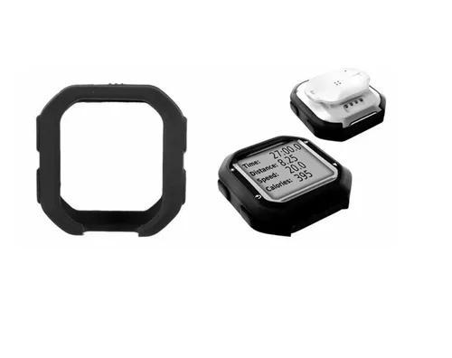 Capa case proteção preto garmin edge 20 / 25 bike + 2
