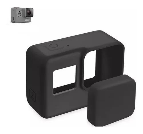 Capa case protetora de silicone gopro hero 5 black