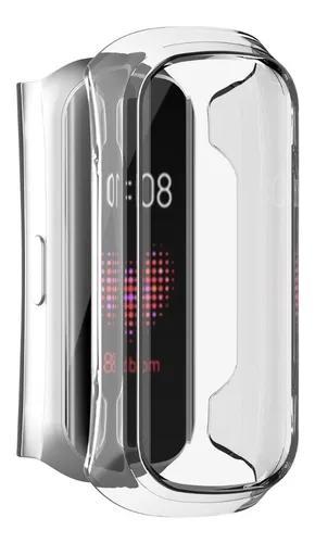 Capa case silicone samsung galaxy fit-e (r375) + 4