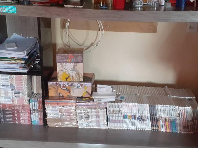 Coleções de mangás,vários títulos