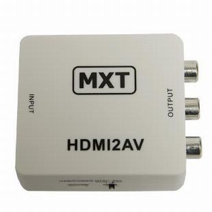 Conversor HDMI para AV com Áudio
