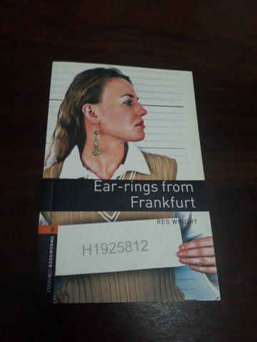 Earrings from frankfurt - new edition
