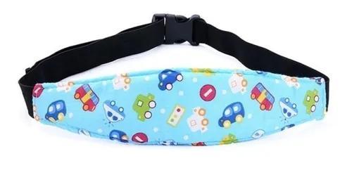 Faixa apoio suporte cabeça bebê criança cadeirinha carro