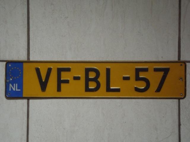 Holanda,placa de carro,importada e original,tenho muitos