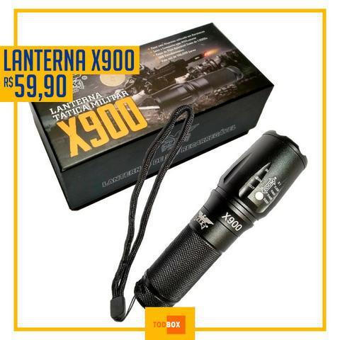 Lanterna tática x900 - a melhor do mundo
