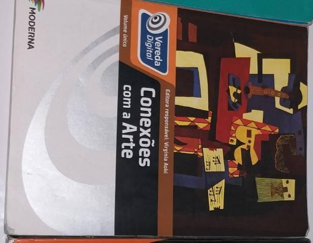 Livro de artes (conexões com a arte) livro novo usado