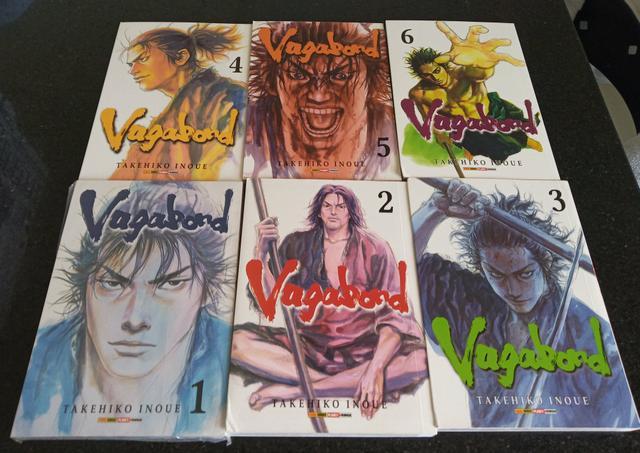 Manga vagabond - 1 ao 6