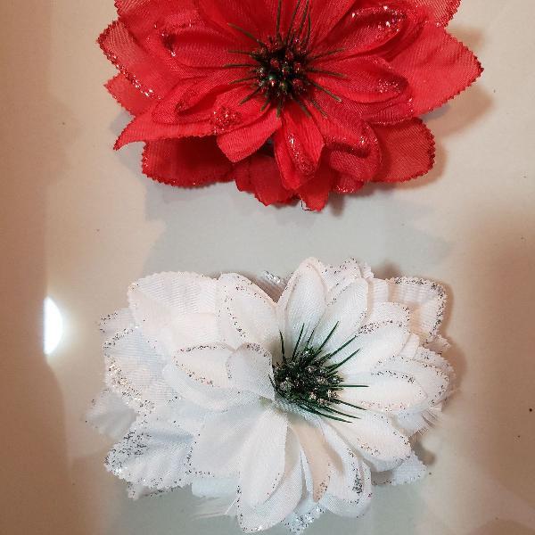 Prendedor de cabelo flor cigana