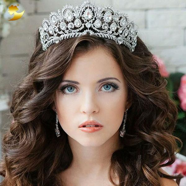 Coroa noiva debutante 15 anos tiara pente veu princesa miss