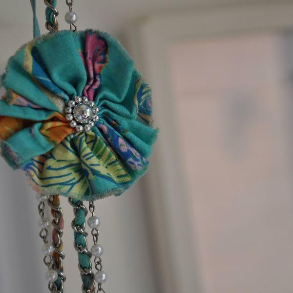 Headband com flor